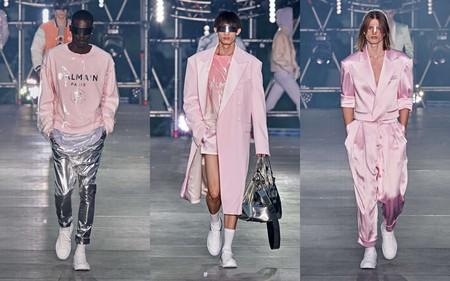 Hombre Rosa Pink Trendnecias Hombre Tendencia Paris Fashion Week Spring Summer 2020 02