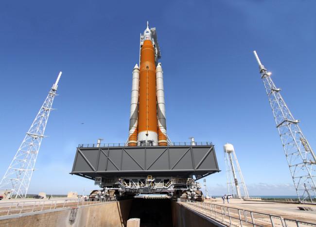 Listos los detalles de la primera misión del SLS, el cohete más grande jamas construido