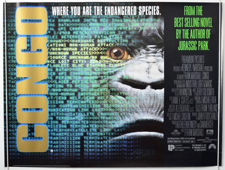 Congo Cinema Quad Movie Poster 1