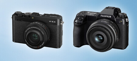 Fujifilm X E4 Y Gfx100s