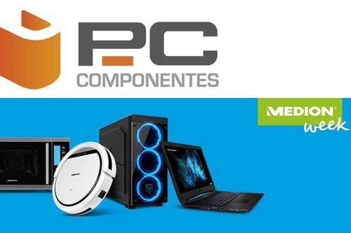Medion Week en PcComponentes: equipos portátiles y de sobremesa rebajados