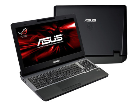 Asus eleva sus portátiles Republic of Gamers hasta Ivy Bridge