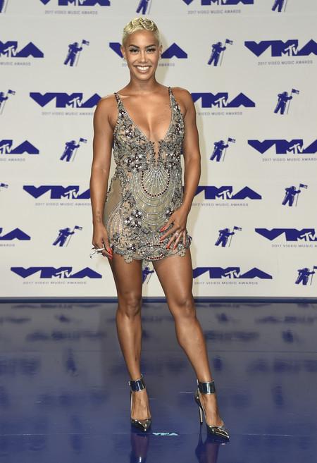 mtv vma video music awards 2017 alfombra roja red carpet sibley scoles