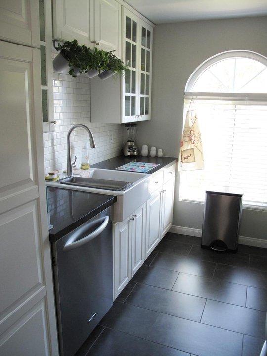 foto de una cocina de 7 metros cuadrados 3 4