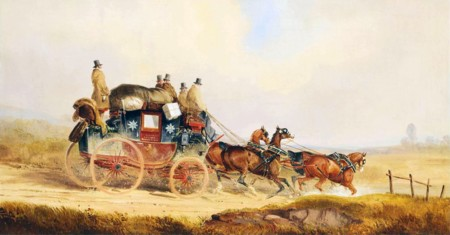 Charles Cooper Henderson The Louth London Royal Mail Coach