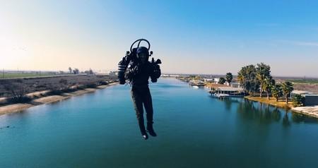 Cuando volar en jetpack se convierte en la más grande sensación de libertad