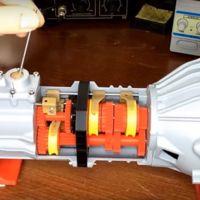 Si te gustan las maquetas y la mecánica, atento a esta caja de cambios realizada por impresión 3D