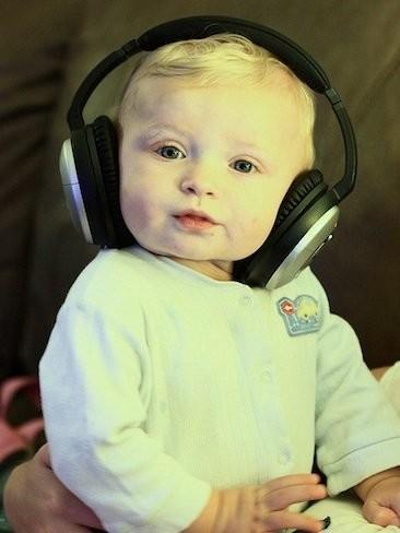 La música que calma al bebé