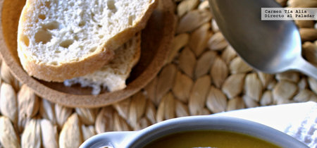 Crema de calabaza al eneldo. Receta fácil de tres ingredientes