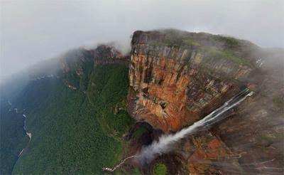 Salto Ángel: El salto de agua más imponente del mundo como nunca lo habías visto