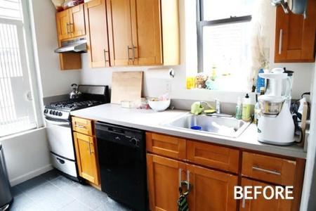 Antes y después: eligiendo colores para renovar los muebles de la cocina