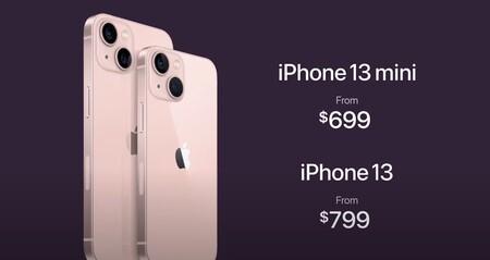 iPhone 13 precios
