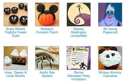 Recetas y manualidades Disney para Halloween