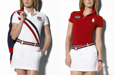 Ralph Lauren, The Olympic Games, colección mujer 2008
