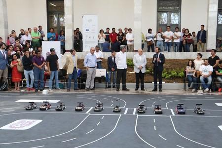 Primer Rally De Autos Autonomos En El Ipn 5