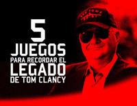 Cinco juegos para recordar el legado de Tom Clancy