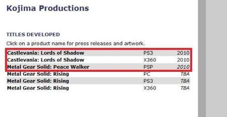 'Metal Gear Solid Rising' no es exclusivo de Xbox 360... y viene uno para PSP [E3 2009]