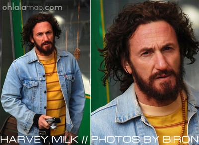 Primeras imágenes de Sean Penn en 'Milk' de Gus Van Sant