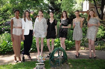Stella McCartney resort 2009: la vida es picnic