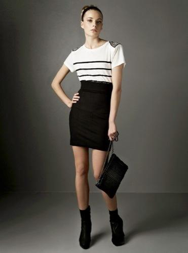 Nuevos looks y estilos de Zara, Otoño-Invierno 2009/2010, blanco y negro