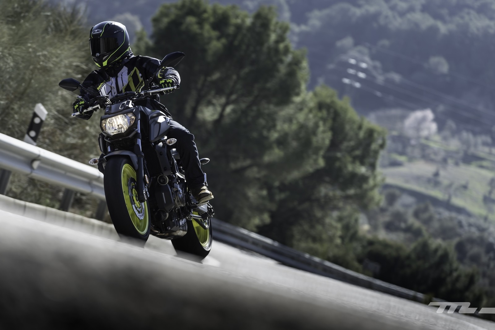 Foto de Yamaha MT-07 2018, prueba (55/56)