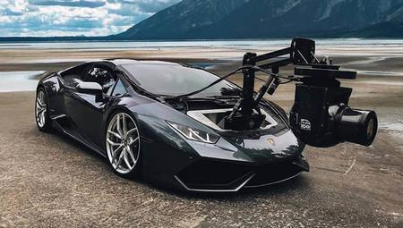No hay una cámara más rápida en el mundo que la que monta este Lamborghini 'Huracam'