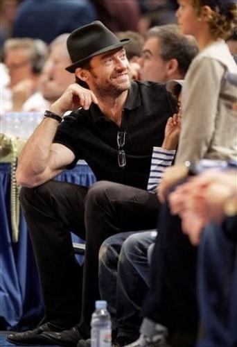 Hugh Jackman fedora