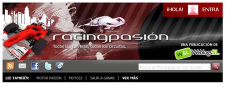Nuevo diseño para Racingpasión