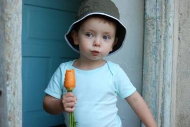 Alimentos para una buena salud visual en los niños