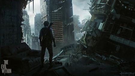 Este arte conceptual de 'The Evil Within' recuerda a 'The Last of Us'