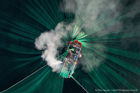 Anchovy Catching Thien Nguyen Aerial Photography Awards