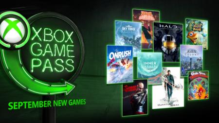 Quantum Break, ONRUSH, Halo: The Master Chief Collection y otros siete juegos más se unirán a Xbox Game Pass en septiembre