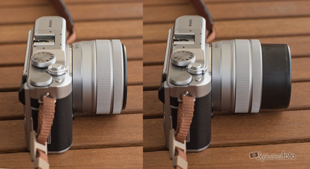 Fujifilm X A5 Compobjetivo