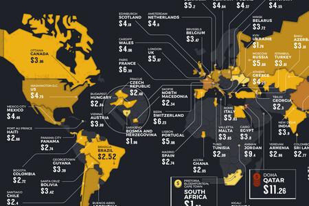 La economía de la cerveza: los países donde más cuesta, más se consume y más se gasta, en un mapa