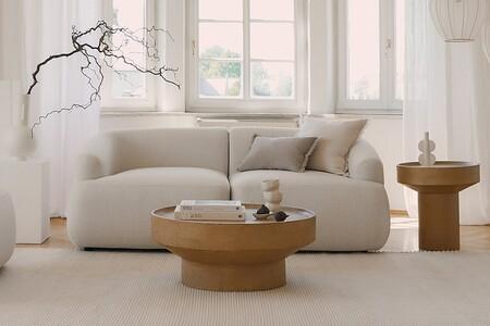Si buscas un sofá elegante y atemporal, te enamorarán las formas orgánicas de la nueva creación de Westwing