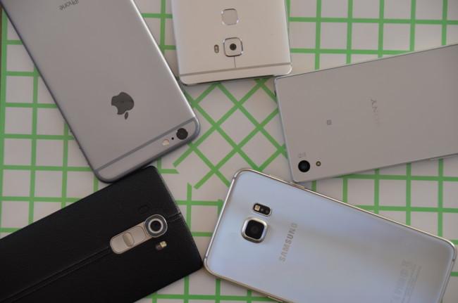 Los mejores smartphones con cámara de 2015 a prueba: comparativa fotográfica