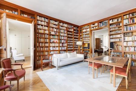 Biblioteca en París