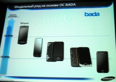 Samsung prepara cuatro nuevos terminales con Bada