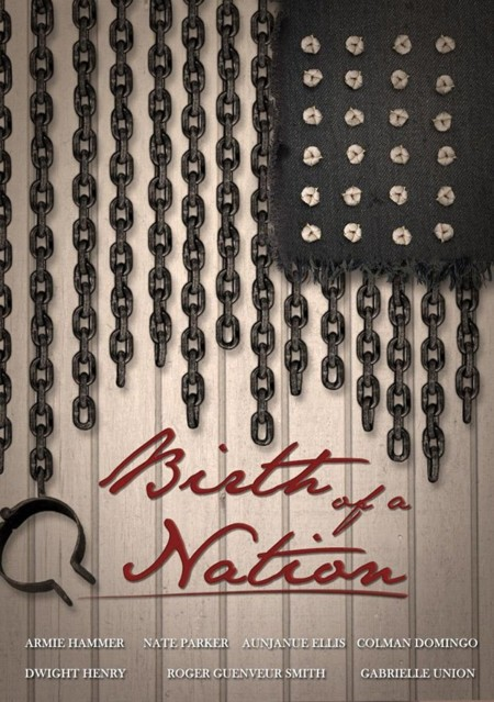Teaser póster de The Birth Of A Nation