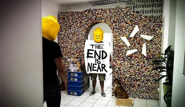 Foto de Separando espacios con un muro de lego (7/7)