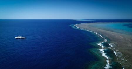 Con 1,5 km de ancho, 500 metros de altura y 20 millones de años este arrecife de coral es el primero descubierto en 120 años
