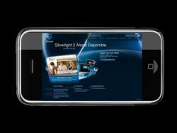Silverlight empieza a ofrecer streaming de vídeo en el iPhone