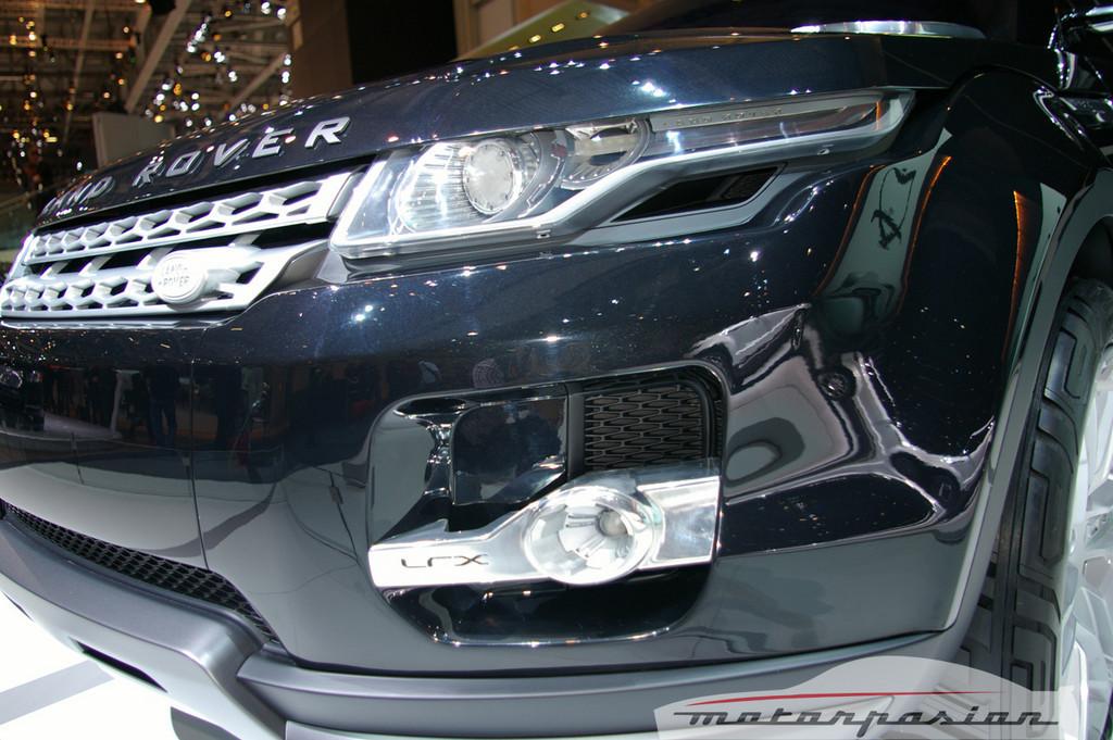 Foto de Land Rover LRX Concept en el salón de Ginebra (8/11)