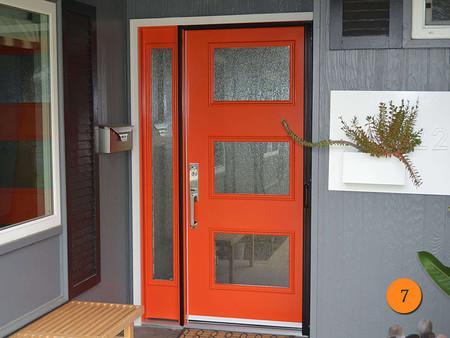 Moderna Puerta Roja 04