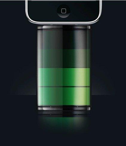 Icon, cargador de iPhone con apariencia del propio logotipo de la batería