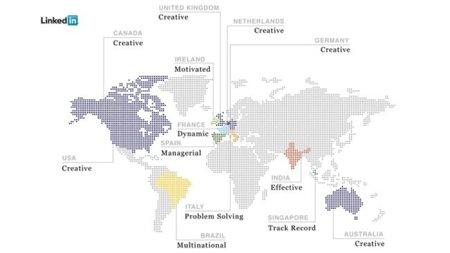 LinkedIn: las palabras más usadas en sus perfiles durante 2011