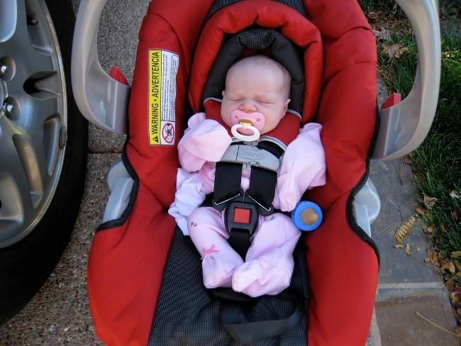 Sillita de bebé para viajar