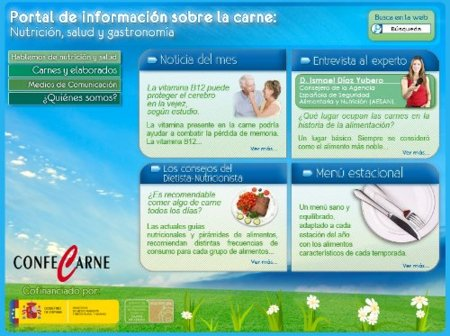 Carne y Salud, un portal para informarse y cuidarse