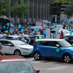 Foto 7 de 9 de la galería ii-marcha-vehiculo-electrico-en-madrid en Motorpasión