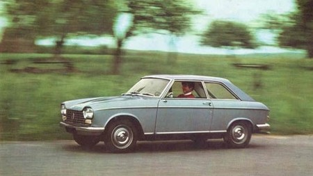 Peugeot 204 Deluxe Coupe 2d Silver
